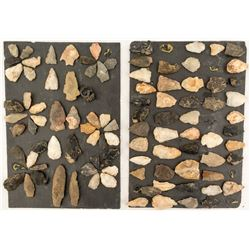 Mixed Projectile Points from the Cherokee Nation