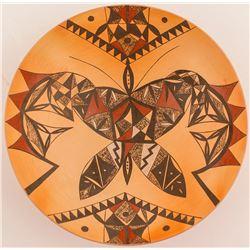 Butterfly Bowl by Yvonne Analla Lucas