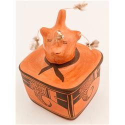 Effigy Box/Lidded, Nyla Sahmie