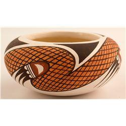Pot by Legendary Hopi Artist White Swan
