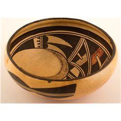 Vintage Bowl w/ Interior Design