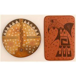 Two Tiles, Gwen Setalla & Darlene Nampeyo