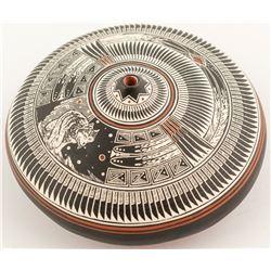 Miniature Navajo Seed Jar, Wallace Nez