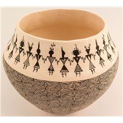 Acoma Pot by Corrine Lewis