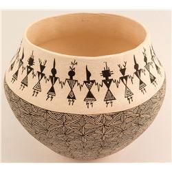 Acoma Pot by Corrine Lewis