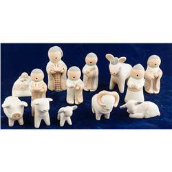 Nativity Figures by Stella Teller