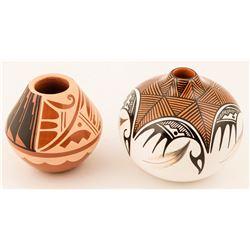 Jemez Pots by Caroline Loretto and Vangie Tafoya