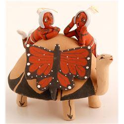 Turtle Storyteller Figurine, Chris Fragua