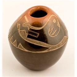 Avanyu Vase, Eric Tafoya