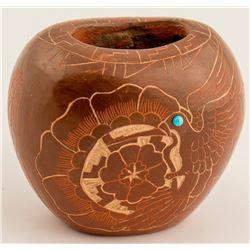 Brownware Jar, Stephen Baca