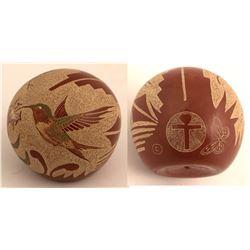 Hummingbird Pot, Joseph Lonewolf
