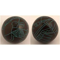 Mimbres Rabbit Design, Paul Speckled Rock