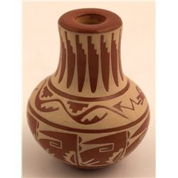Miniature Red Ware Vase, Dolores Curran