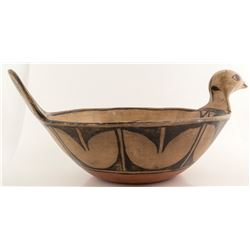 Vintage Kewa Effigy Bowl