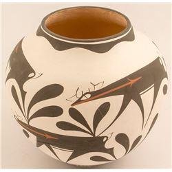 Zuni Pot by Anderson Peynesta