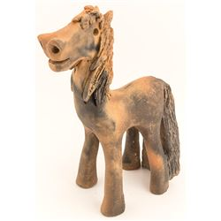Micaceous Clay Horse