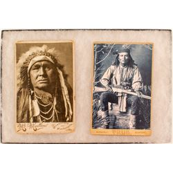 Cabinet Cards of Crow Indians