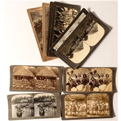 Stereoviews of Native/Indigenous Peoples (Eskimos, South Pacific, Etc.)