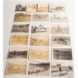 14 Different Pendleton, Oregon Rodeo Postcards (19 Total)