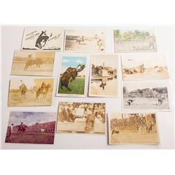 Twelve Pendleton Round-Up Postcards