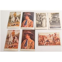 Buffalo Bill Postcards: Buffalo BIll and Pawnee Bill
