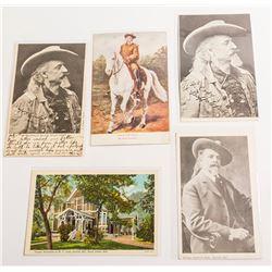 Buffalo Bill Postcards: Portraits