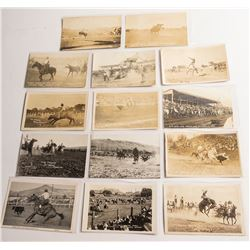 14 Different Rodeo Postcards from Different Rodeos
