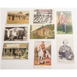 Postcards of the Famous and Infamous Western Figures
