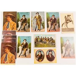 Stars of Wild West Shows Postcards