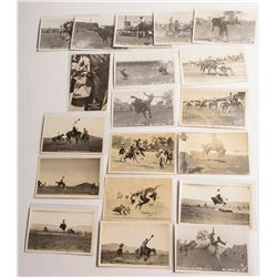 Western Rodeo Postcards