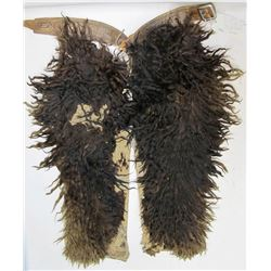 G.S. Garcia Dark Long Hair Wooley Chaps