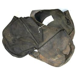 Pair Unmarked Saddle Bags