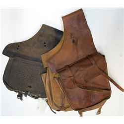 Two Vintage Saddle Bags
