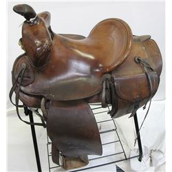 Buck & Knapp Western Saddle