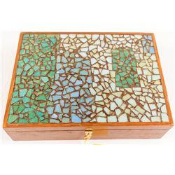 Beautiful Walnut Box for Jewelry