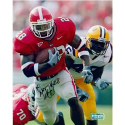 DJ Ware Signed Georgia 8x10 Photo (Radtke COA)