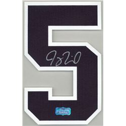 Joey Terdoslavich Signed Braves Jersey Number #5 (Radtke Hologram)