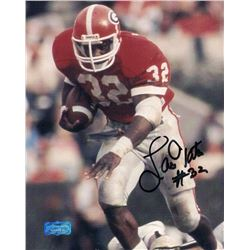Lars Tate Signed Georgia 8x10 Photo (Radtke COA)