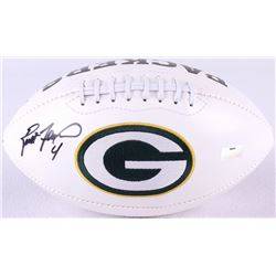 Brett Favre Signed Packers Logo Football (Radtke COA)