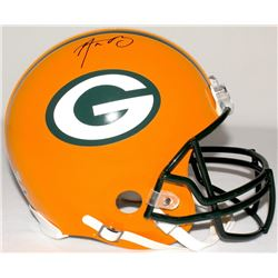 Aaron Rodgers Signed Packers Full-Size Authentic Proline Helmet (Radtke COA  Fanatics Hologram)