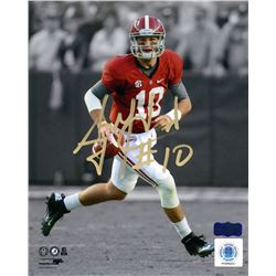 AJ McCarron Signed Alabama 8x10 Photo (Radtke COA)