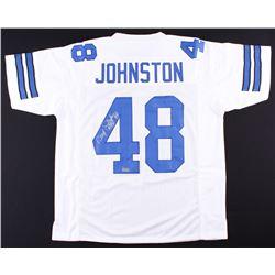 """Daryl """"Moose"""" Johnston Signed Cowboys Jersey (Radtke COA)"""