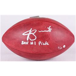 "Jameis Winston Signed LE NFL Official Game Ball Inscribed ""2015 #1 Pick"" (Steiner COA)"