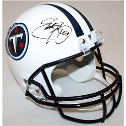 Eddie George Signed Titans Full-Size Helmet (Radtke COA)