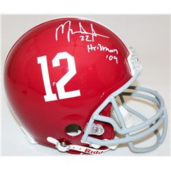 "Mark Ingram Signed Alabama Full-Size Authentic Pro-Line Helmet Inscribed ""Heisman '09"" (Ingram Holog"