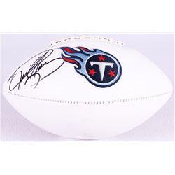 Derrick Henry Signed Titans Logo Football (Henry Hologram)