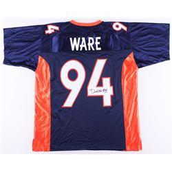 DeMarcus Ware Signed Broncos Jersey (JSA COA)