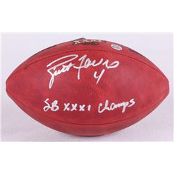 "Brett Favre Signed Super Bowl XXXI NFL Official Game Ball Inscribed ""SB XXXI Champs"" (Favre COA)"