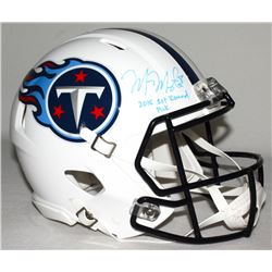 "Marcus Mariota Signed Titans Full-Size Authentic Pro-Line Speed Helmet Inscribed ""2015 1st Round Pic"