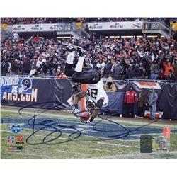 Reggie Bush Signed Saints 8x10 Photo (Bush Hologram)